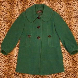 Gallery Green Pea Coat